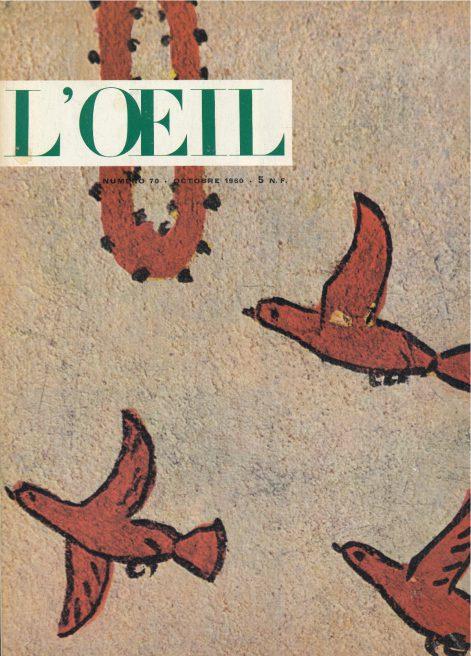L'oeil – Revue d'Art n° 70 octobre 1960