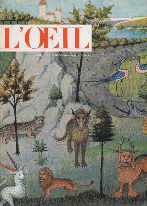 L'oeil – Revue d'Art n° 72 décembre 1960 Messagier Breuer