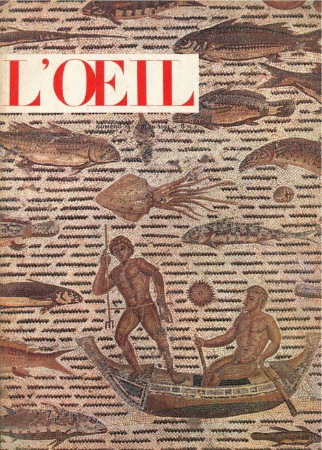 L'oeil – Revue d'Art n° 78 juin 1961 Archipenko