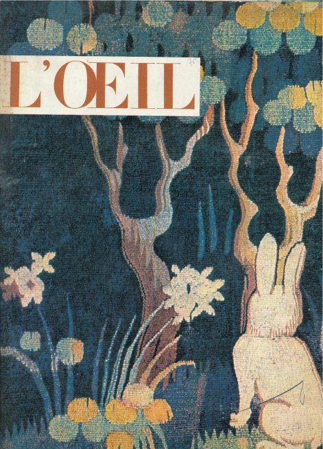 L'oeil – Revue d'Art n° 89 mai 1962