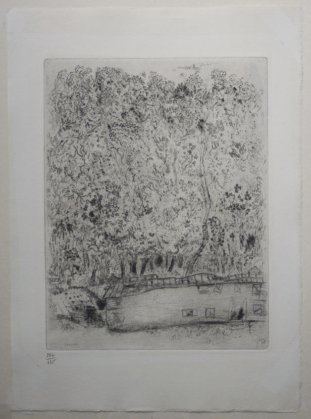 Marc Chagall Gogol Dode Zielen Pljoesjkins oude park 08