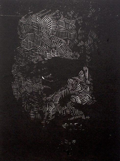 Victor Delhez, Zelfportret