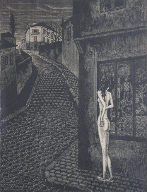 Victor Delhez, A une mendiante rousse