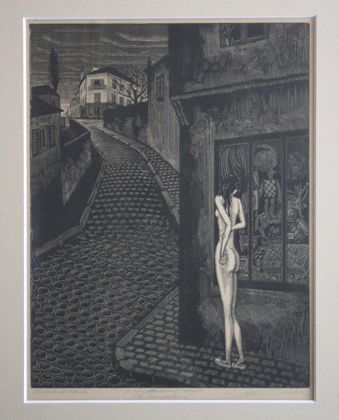 Victor Delhez A une mendiante rousse 08