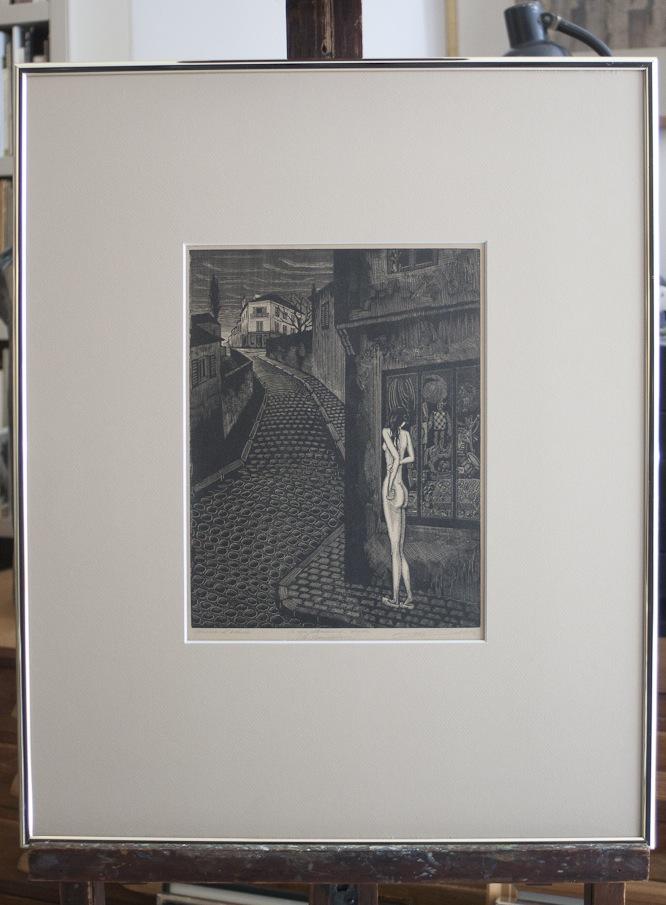 Victor Delhez A une mendiante rousse 10