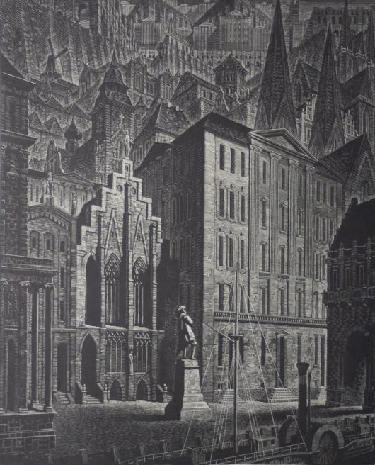 Victor Delhez, Architecture et Nostalgie III