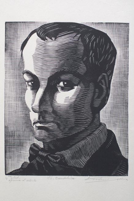 Victor Delhez, Charles Baudelaire