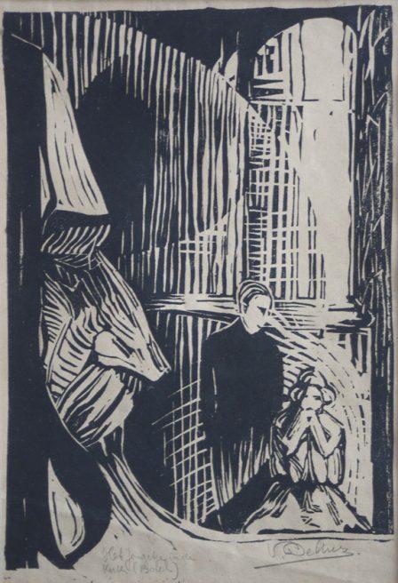Victor Delhez, Het Jongetje in de Kerk