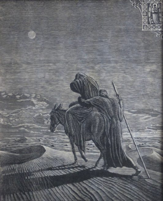 Victor Delhez, Huida a Egipto