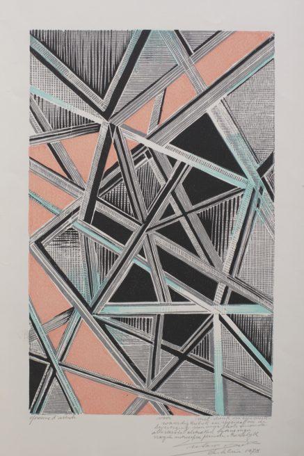 Victor Delhez, Abstracte Compositie