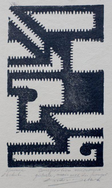 Victor Delhez, Nog een micromagistrale compositie, maar met franje