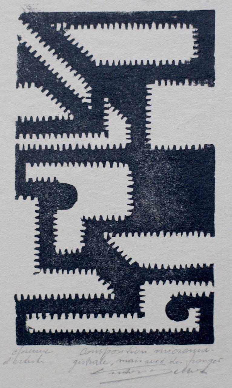 Victor Delhez Nog een micromagistrale compositie maar met franje