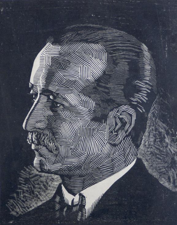 Victor Delhez Portret 04