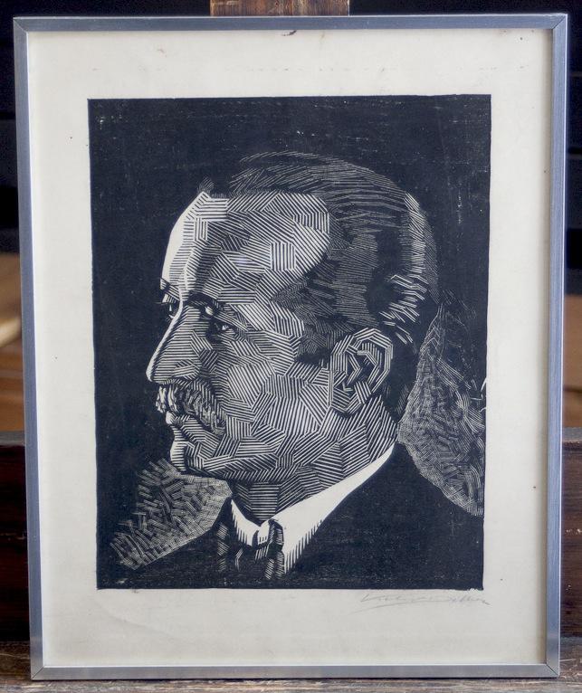 Victor Delhez Portret 10