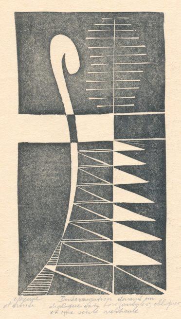 Victor Delhez, Vraag tegenover een samenspraak van horizontalen