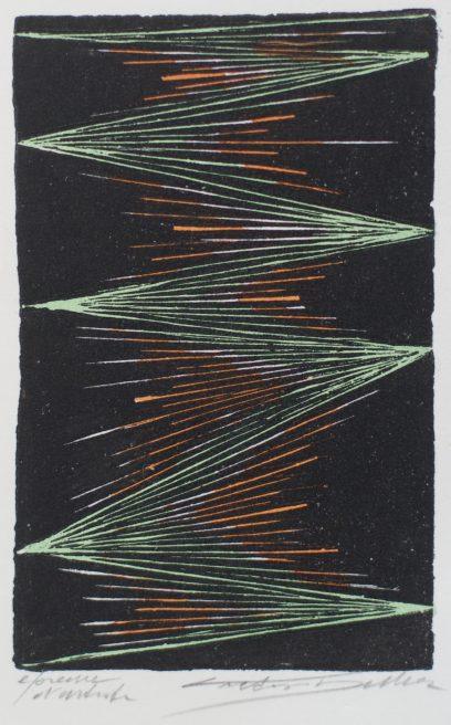 Victor Delhez, Schuine melopee met tonale doellijn