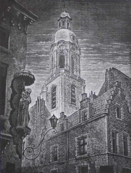 Victor Delhez, Sint-Andries