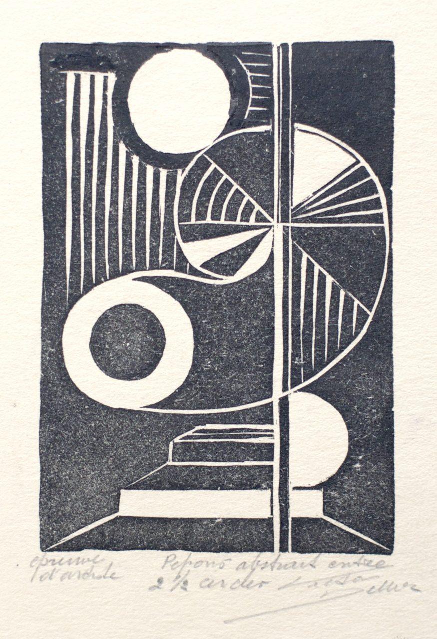 Victor Delhez Tegenzang tussen twee cirkels en een halve II
