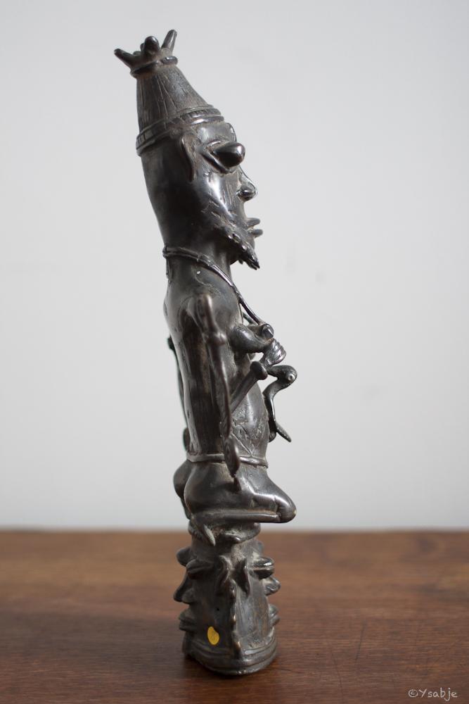 bronze Ogboni-genootschap Yoruba 04