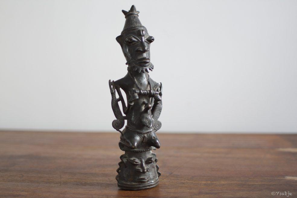 Bronze Ogboni-genootschap Yoruba