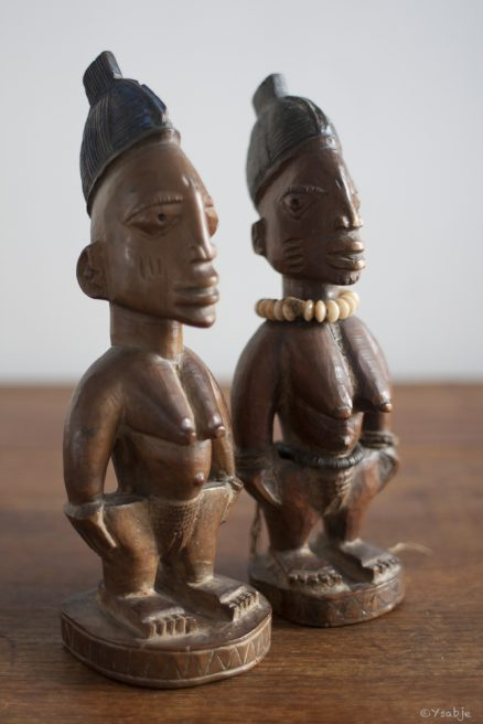 Female Ibeji's, Yoruba