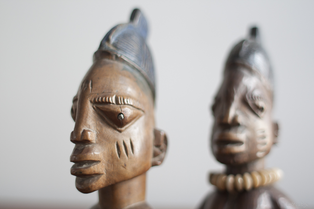 female Ibeji's Yoruba 02