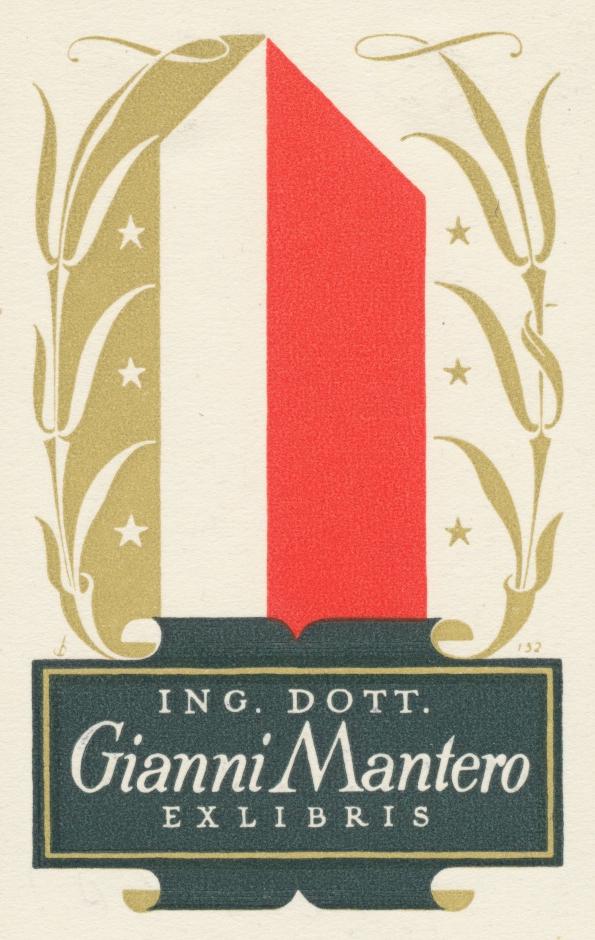 030 Ex Libris Gianni Mantero - Christian Blæsbjerg 2,20 euro 02