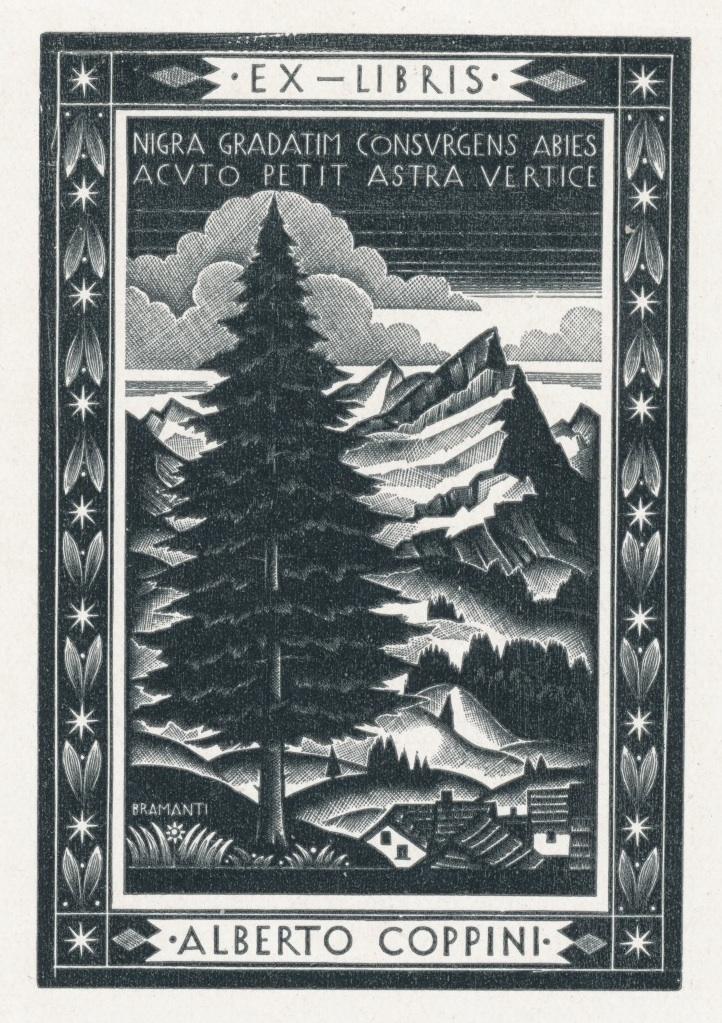 Ex Libris Alberto Coppini - Bruno Bramanti 2 euro 02