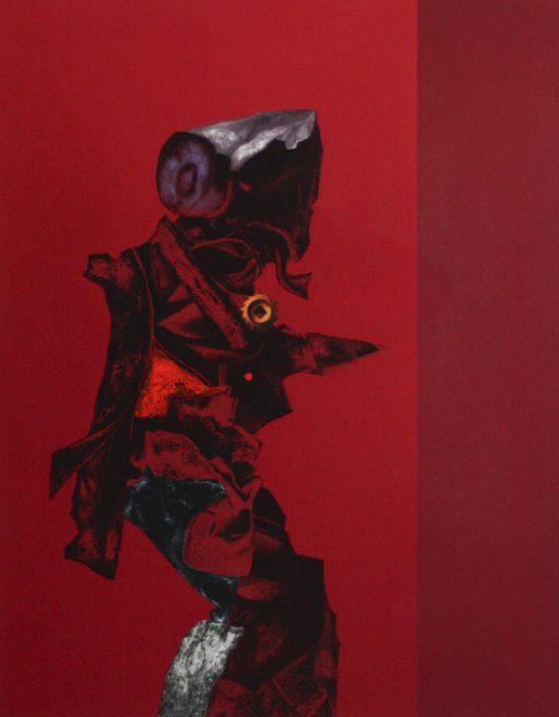 Roger Nellens – Litho – 'Compositie' 1994