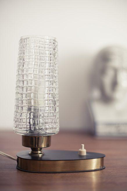 Vintage tafellampje of nachtlampje