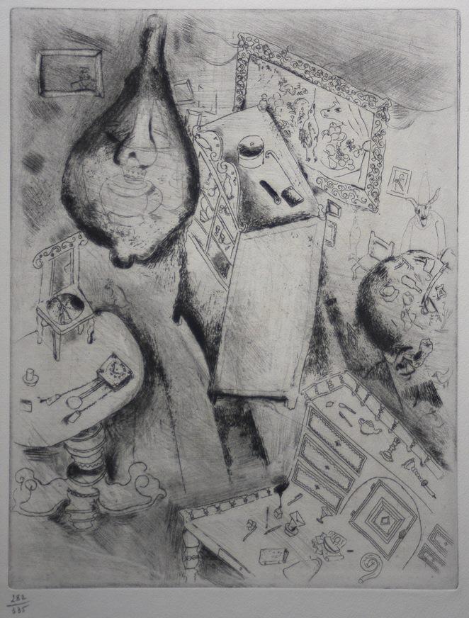 Marc Chagall Gogol Dode Zielen Pljoesjkins kamer 01