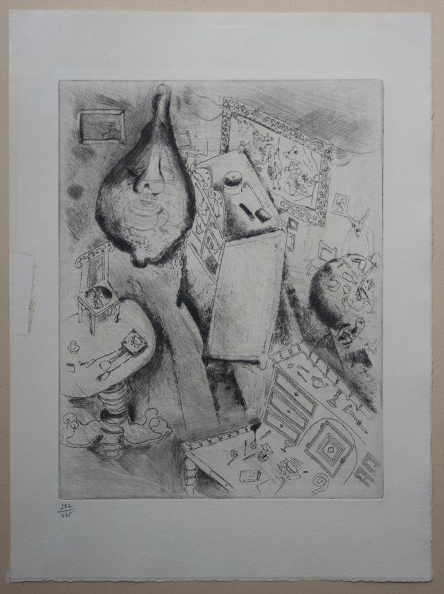 Marc Chagall Gogol Dode Zielen Pljoesjkins kamer 03