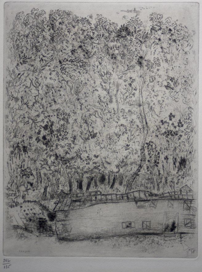 Marc Chagall Gogol Dode Zielen Pljoesjkins oude park 10