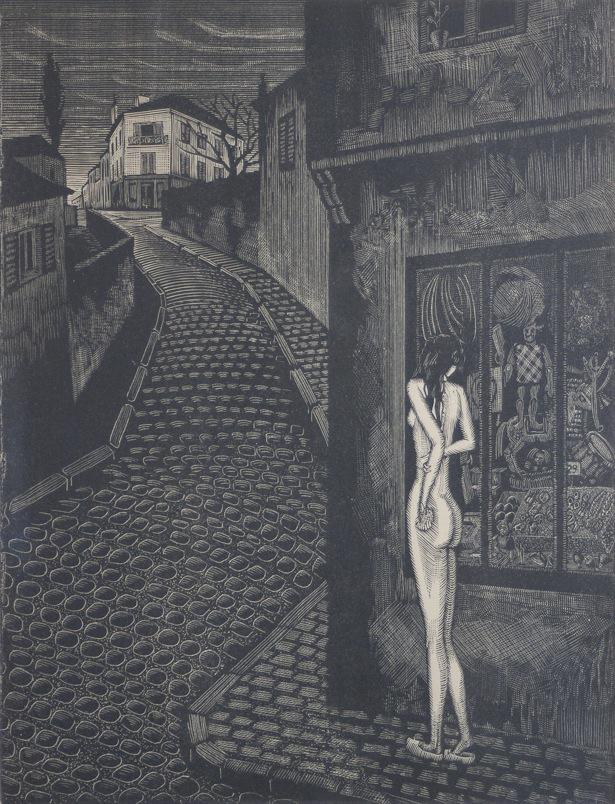 Victor Delhez A une mendiante rousse 06