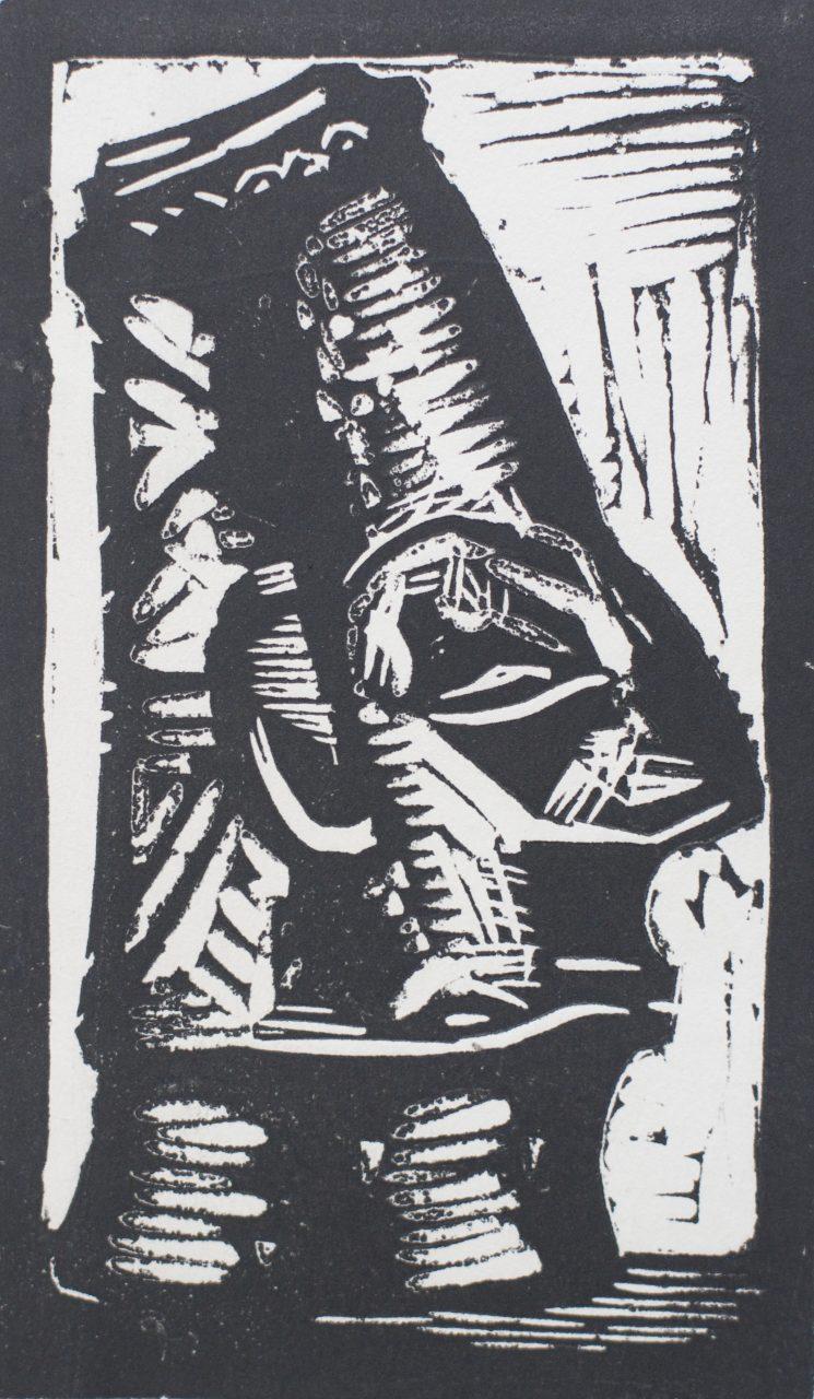 Victor Delhez Afrikaans beeld
