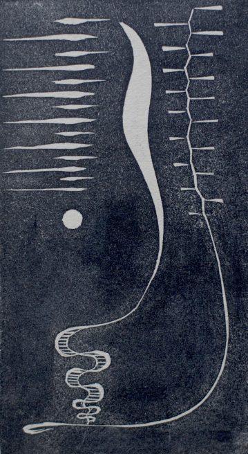Victor Delhez, Anekdote versperd door een orgelpunt in evolutie naar het concrete
