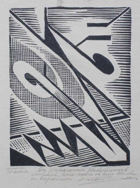 Victor Delhez, Op een plastisch gekomposeerd pentagram