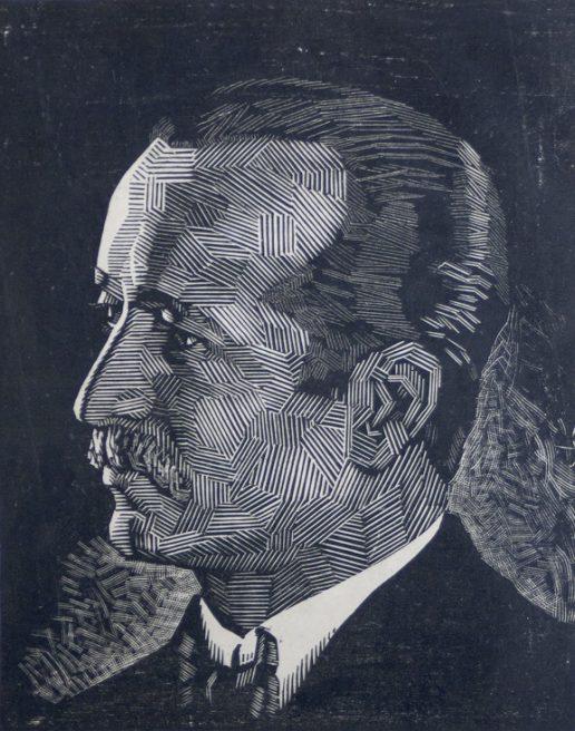 Victor Delhez, Portret man