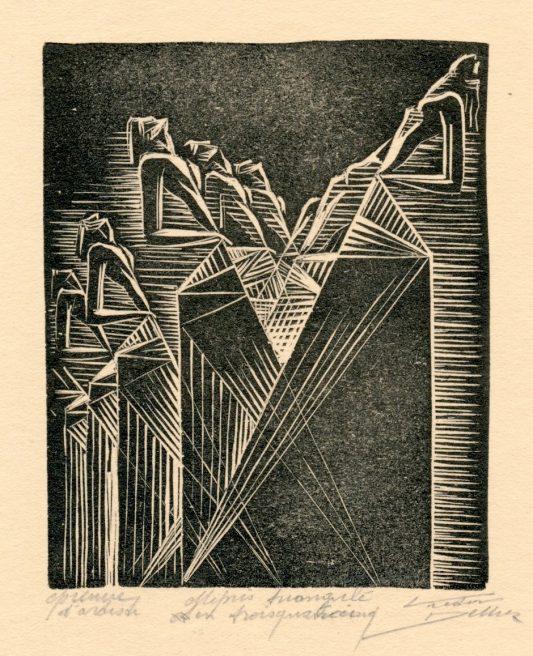 Victor Delhez, Driehoekig misprijzen in een drieviervijf hoek