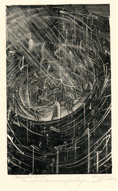 Victor Delhez, Tele- mecanopsychisch landschap
