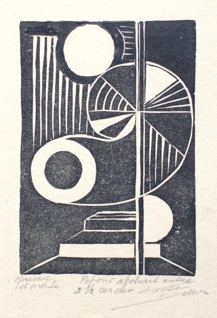 Victor Delhez, Tegenzang tussen twee cirkels en een halve