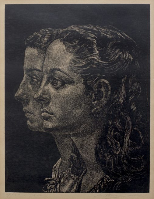 Victor Delhez, Twee vrouwen