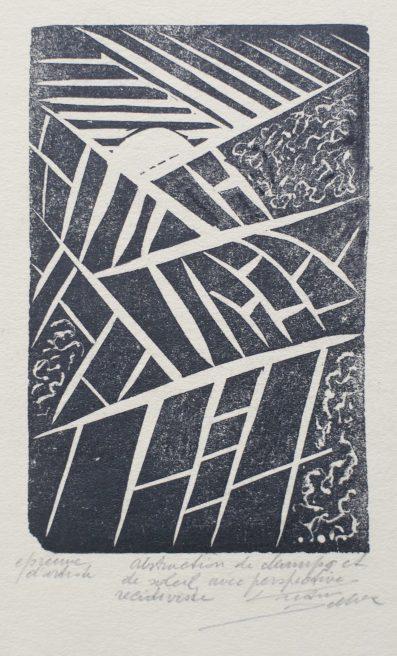 Victor Delhez, Veld en zon abstractie in recidivistisch perspektief