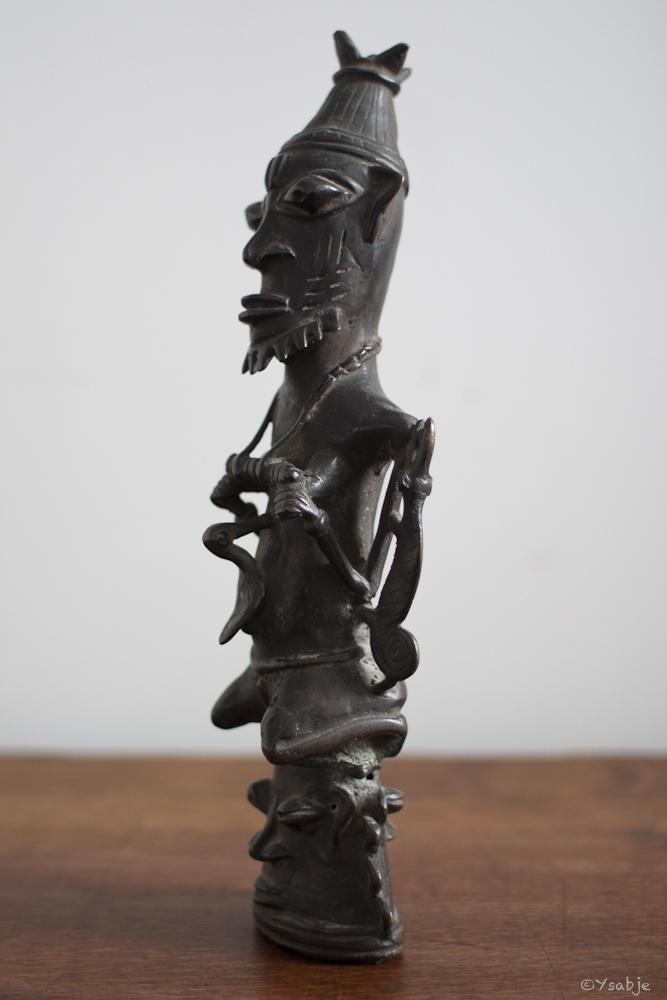 bronze Ogboni-genootschap Yoruba 02