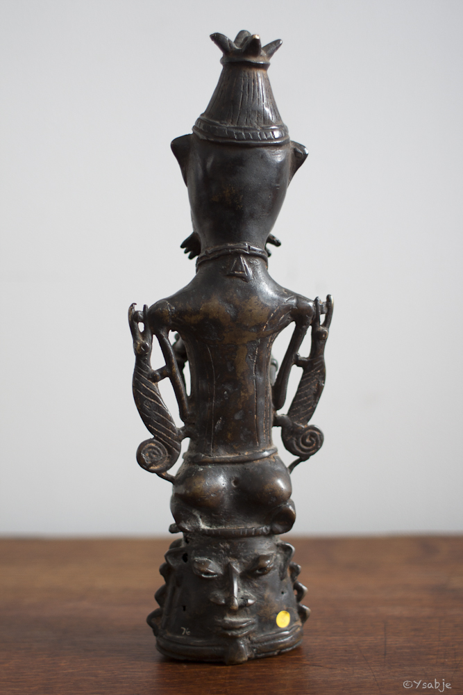 bronze Ogboni-genootschap Yoruba 03