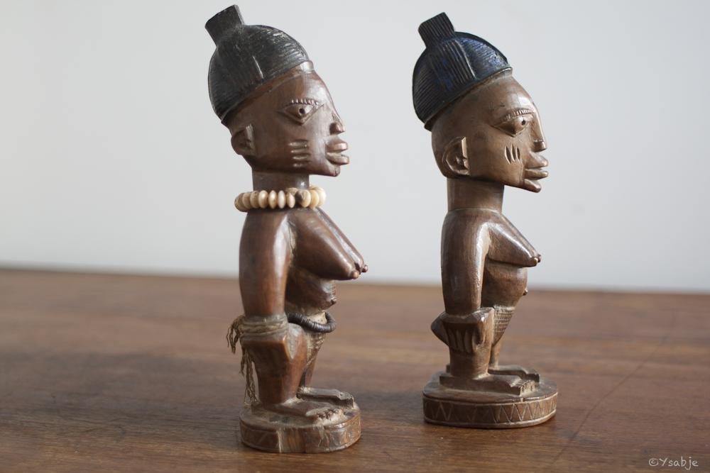 female Ibeji's Yoruba 07