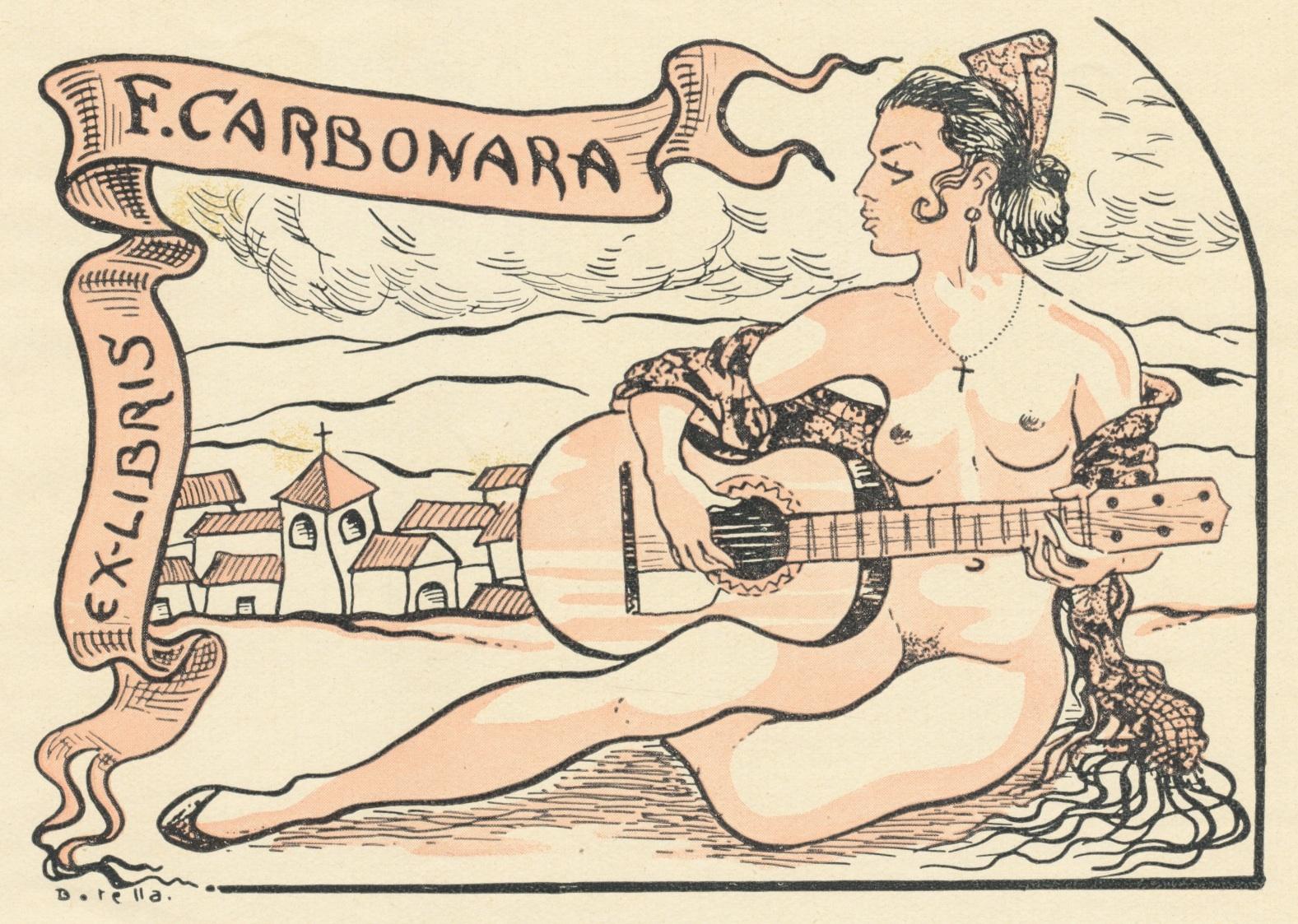 Ex Libris F. Carbonara - Juan Vicente Botella 5 euro 02